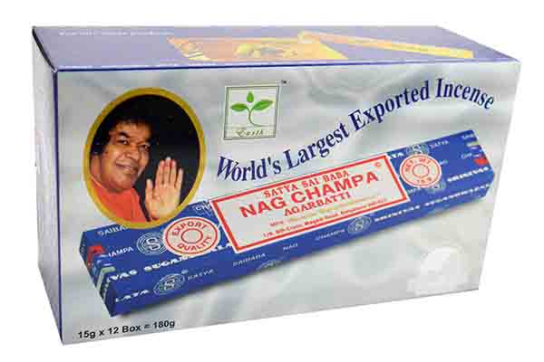Incense Nag Champa L20cm 15gx12 Per Box