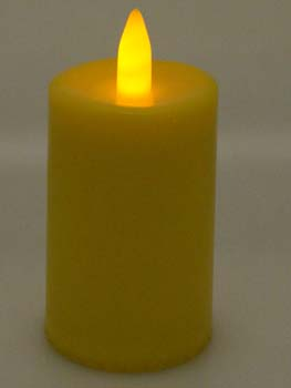 XX-Candle Smart Yellow 9cm 5pcs